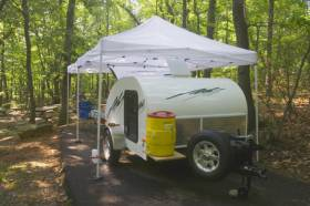 Trailer Tents - An ideal Halfway House