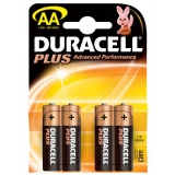 F-MN1500 Duracell Plus AA Pack Of 4