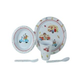 Sparky and Friends 5 Piece Childrens Dining Set F-SF005