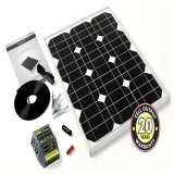F-STP028MA-28Wp Solar Panel Inc. Cable, Connectors & 4Ah Controller