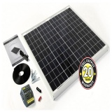 F-STP060MA-60Wp Solar Panel Inc. Cable, Connectors & 4Ah Controller