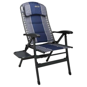Quest Ragley Pro Comfort Chair With Table(Blue) Q-F133002